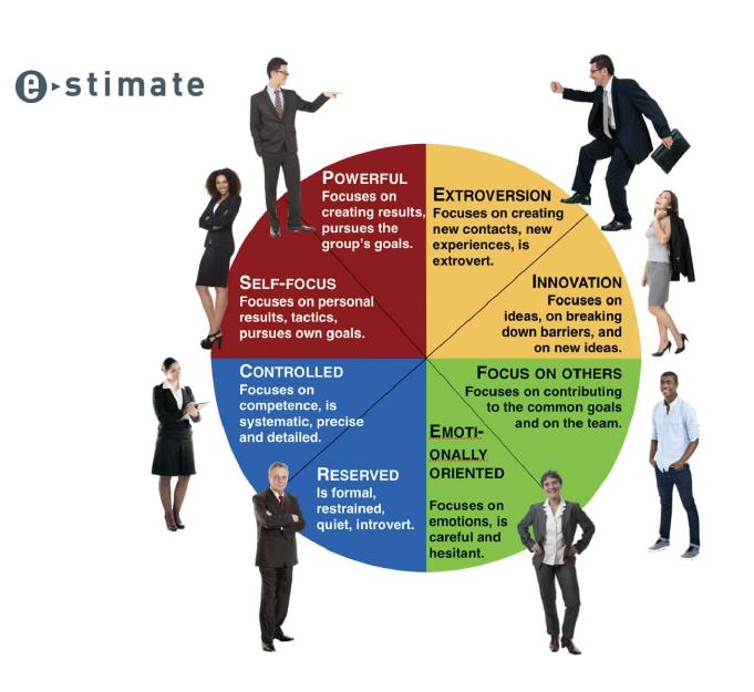 Accreditation, Personality Coaching Tool e-stimate
